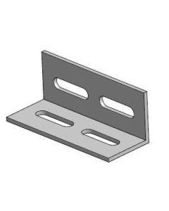 Łącznik montażowy krzyżowy  (AL) - kątownik XPF_L008