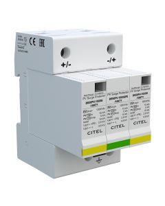 OGRANICZNIK PRZEPIĘĆ DC CITEL TYP 1+2 DS50PVS-1000G/12KT1, 12,5kA 2p+G, kod producenta C482393 32-01-05.0078